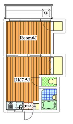 等々力 17分マンション / 203 部屋画像1