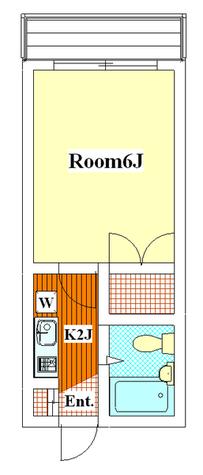 日吉第一QSハイム / 204 部屋画像1