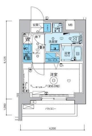 リヴシティ横濱インサイト / 1階 部屋画像1