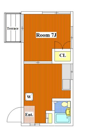グレイスA / 105 部屋画像1