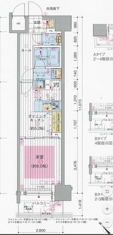 エステムプラザ川崎 / 1202 部屋画像1