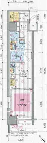 エステムプラザ川崎 / 201 部屋画像1