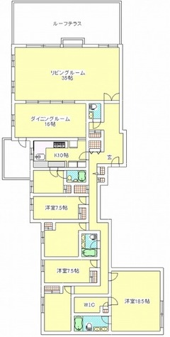 目黒パークハイツ / 301 部屋画像1