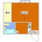 尾山台 4分アパート / 1B 部屋画像1