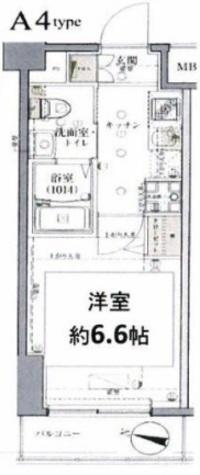 グロース西横浜Ⅱ / 702 部屋画像1