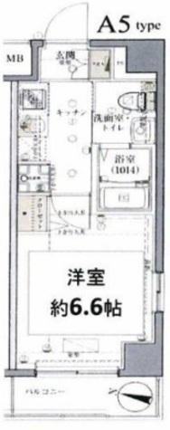 グロース西横浜Ⅱ / 7階 部屋画像1