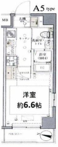 グロース西横浜Ⅱ / 4階 部屋画像1