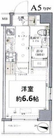 グロース西横浜Ⅱ / 3階 部屋画像1