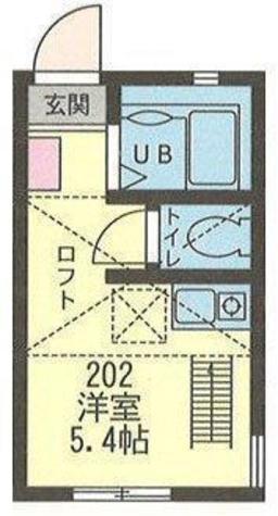 オランジュ・エール大島 / 2階 部屋画像1