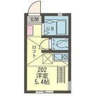 オランジュ・エール大島 / 202 部屋画像1