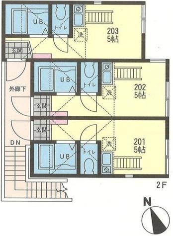 ラ・リベルタ小田 / 2階 部屋画像1