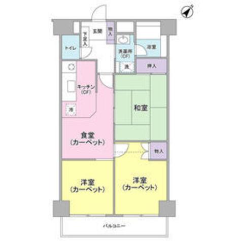 プライム鹿島田 / 4階 部屋画像1