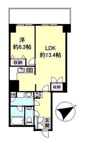 代官山アドレス・ザ・タワー / 4階 部屋画像1