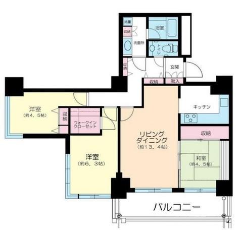 代官山アドレス・ザ・タワー / 20階 部屋画像1