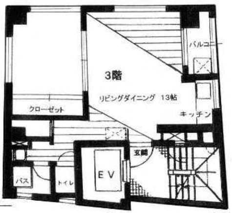 十一ビル / 3階 部屋画像1