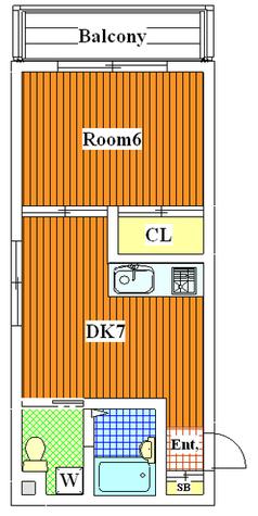 ニッポーホームズ / 205 部屋画像1