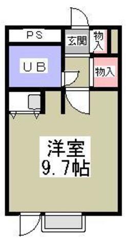 湯島アパートメントハウス / 3階 部屋画像1