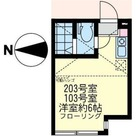 ユナイト鶴見サンクロワ / 103 部屋画像1