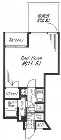 ビバリ-ホームズ代官山 / 2階 部屋画像1