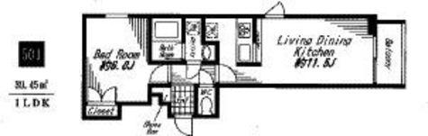 ビバリ-ホームズ代官山 / 501 部屋画像1
