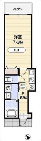 ホームステッドコート / 1階 部屋画像1