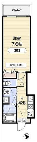 ホームステッドコート / 3階 部屋画像1