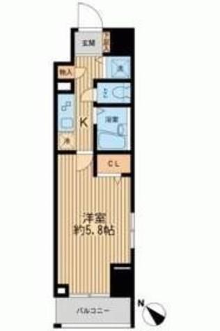 フェニックスレジデンス新横浜 / 3階 部屋画像1