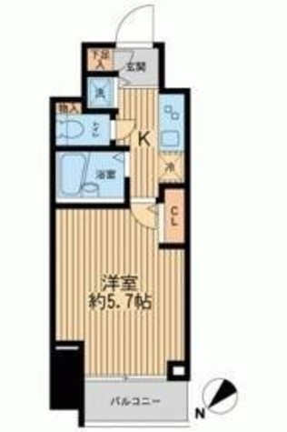 フェニックスレジデンス新横浜 / 9階 部屋画像1
