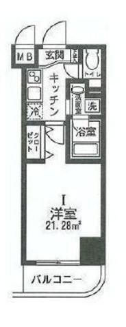 HF関内レジデンス / 4階 部屋画像1