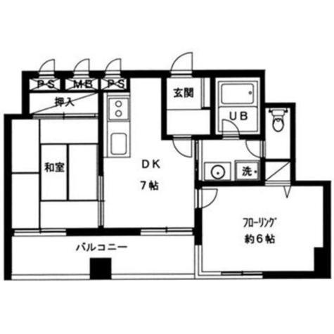ライツェント広尾 / 3階 部屋画像1