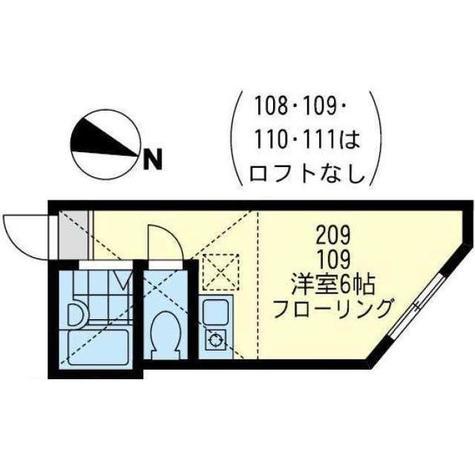 ユナイト弘明寺ヘンリーの杜 / 1階 部屋画像1