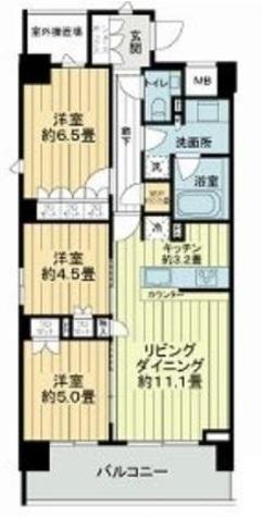 ザ・パークハウス上野池之端レジデンス / 5階 部屋画像1