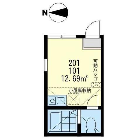 ユナイト川崎ショピニストの調べ / 2階 部屋画像1