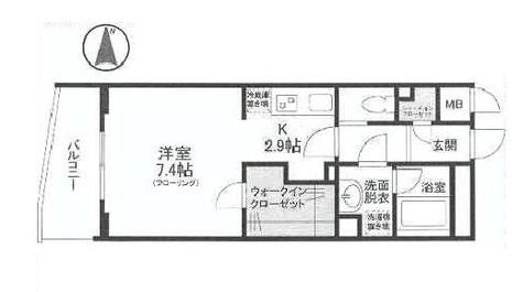 ディアレンス横濱沢渡 / 2階 部屋画像1