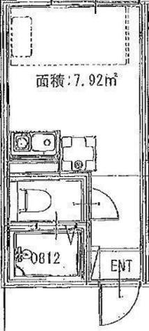 レジデンスパーク川崎 / 3階 部屋画像1