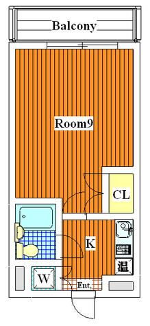 フラッツアミ / 103 部屋画像1
