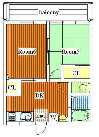 ガーデン深沢 / 102 部屋画像1