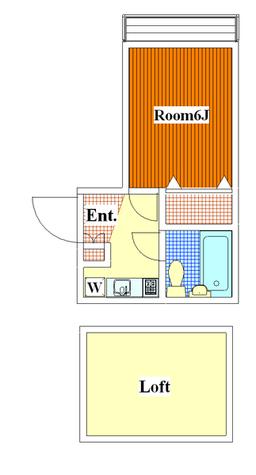 平和島 7分アパート / 107 部屋画像1