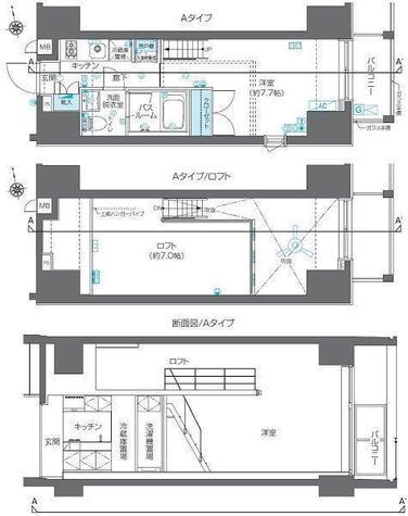 ZOOM六本木 / 4階 部屋画像1