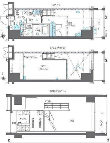 ZOOM六本木 / 10階 部屋画像1