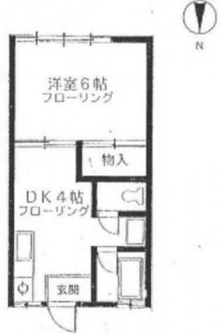 廣美コーポ / 2階 部屋画像1