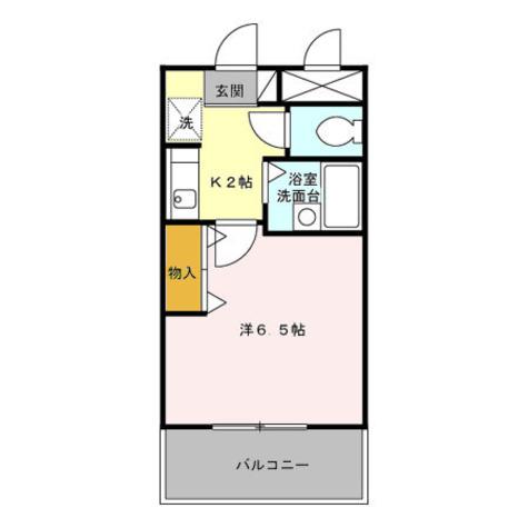 レガシィ小杉 / 4階 部屋画像1