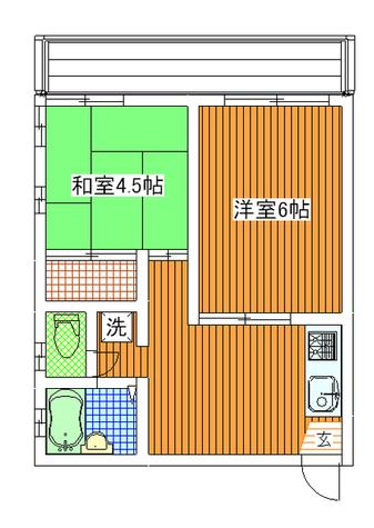 パークアレー / 3階 部屋画像1
