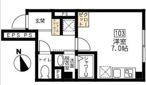 ブリティッシュクラブ宮川町 / 103 部屋画像1