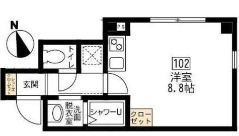 ブリティッシュクラブ宮川町 / 202 部屋画像1