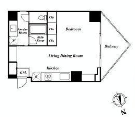 ワインアパートメント / 9階 部屋画像1