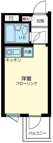 ストーク新丸子壱番館 / 3階 部屋画像1