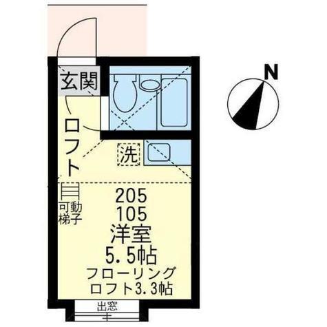 ユナイト山手コスタリカの杜 / 2階 部屋画像1