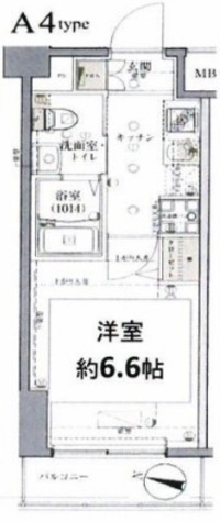 グロース西横浜Ⅱ / 602 部屋画像1