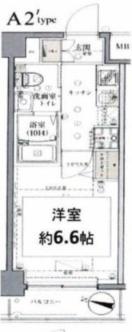 グロース西横浜Ⅱ / 6階 部屋画像1